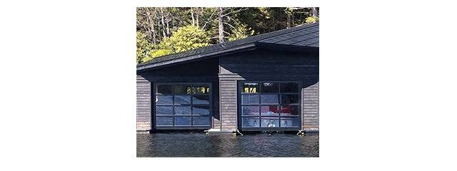 Marine garage doors